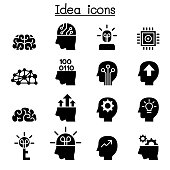 Idea & Creative icon set