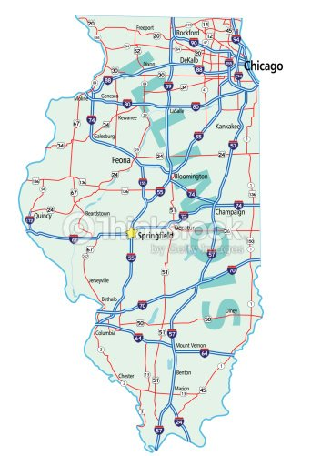 Illinois State Road Map stock vector - Thinkstock on illinois green map, illinois road atlas, illinois state map easy, central illinois map, illinois state hunting, kentucky state map, illinois state history, illinois city maps, belleville illinois state map, southern illinois highway map, illinois major highways, illinois state plane crash, western illinois highway map, illinois interstate map, illinois toll highways map, illinois state map wall, illinois river map states, missouri and illinois road map, il road map, illinois court map,