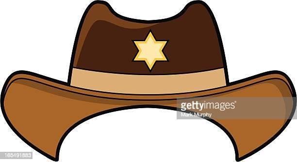 Illustration of a Wild West cowboy hat