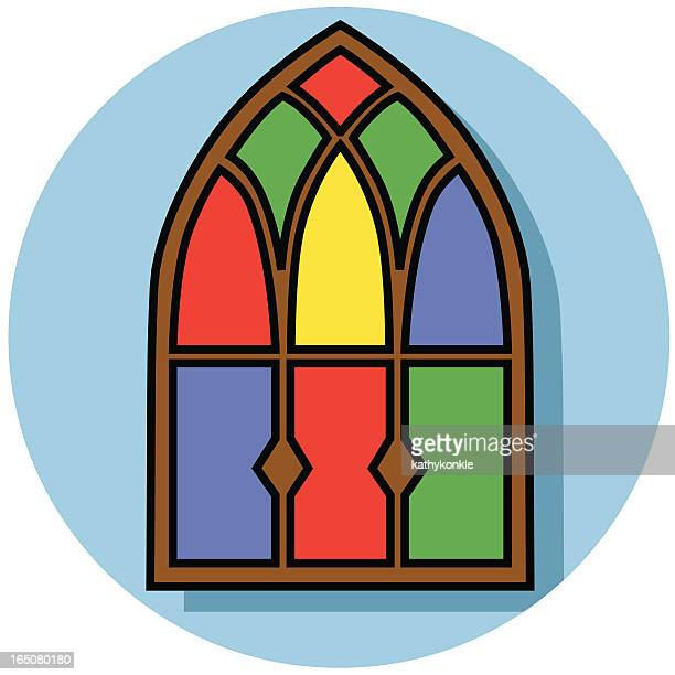 Cartoon Glass Window : Stained glass stock illustrations and cartoons getty images