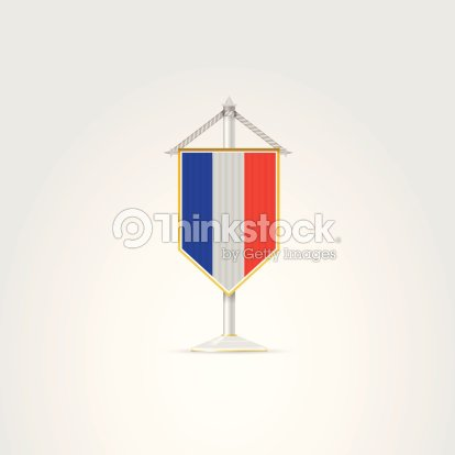 Illustration Of National Symbols Of European Countries France Vector