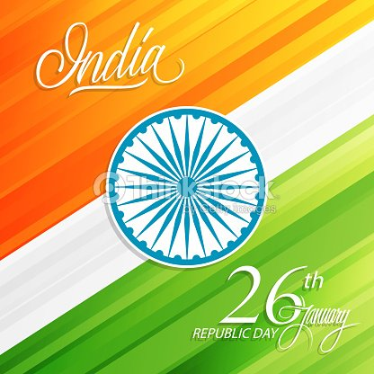 India happy republic day january 26 greeting card with handwritten india happy republic day january 26 greeting card with handwritten word india vector m4hsunfo