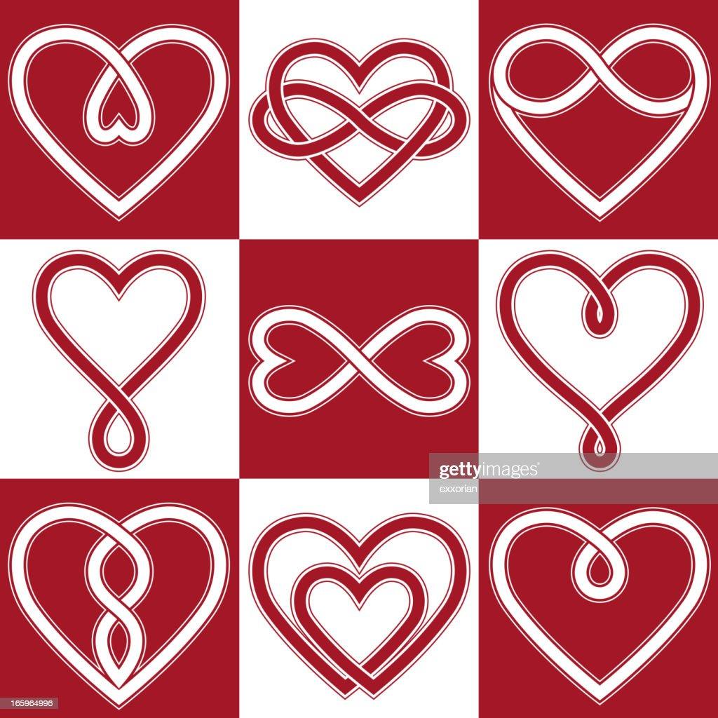 Infinity Love Symbol Vector Art Getty Images