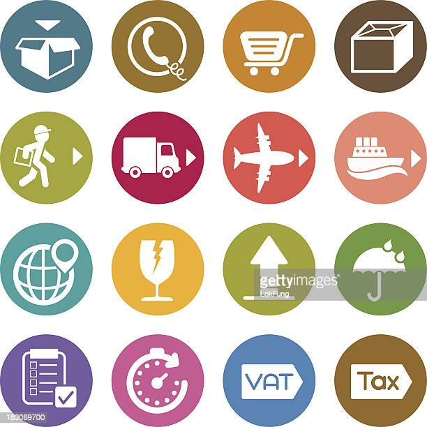 Info icon: Shipping and Delivery