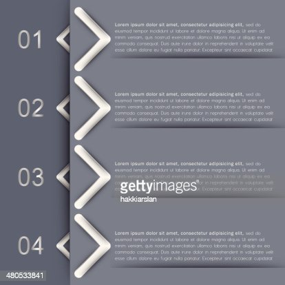 Infographic banners, design template : Vector Art
