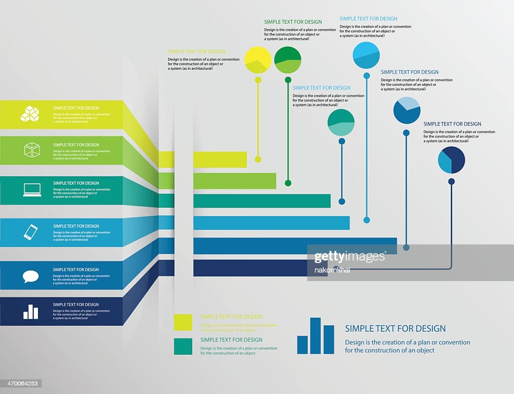 infographic business chart set 1
