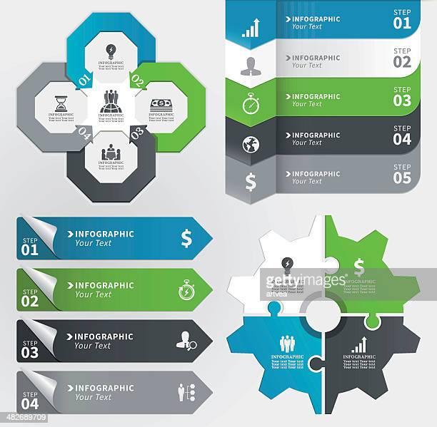 Infografik Konzept-Element