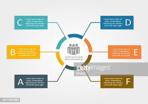 Infographic design template. Vector illustration. : stock vector