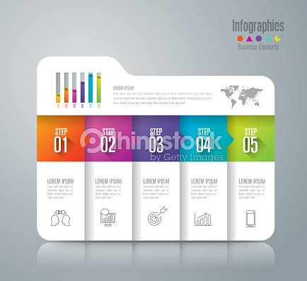 Infographic design vector and business icons. : stock vector