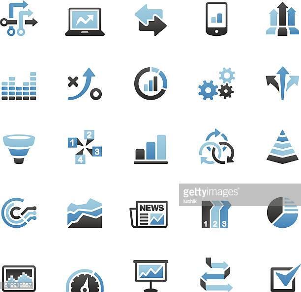 Infografik icons set