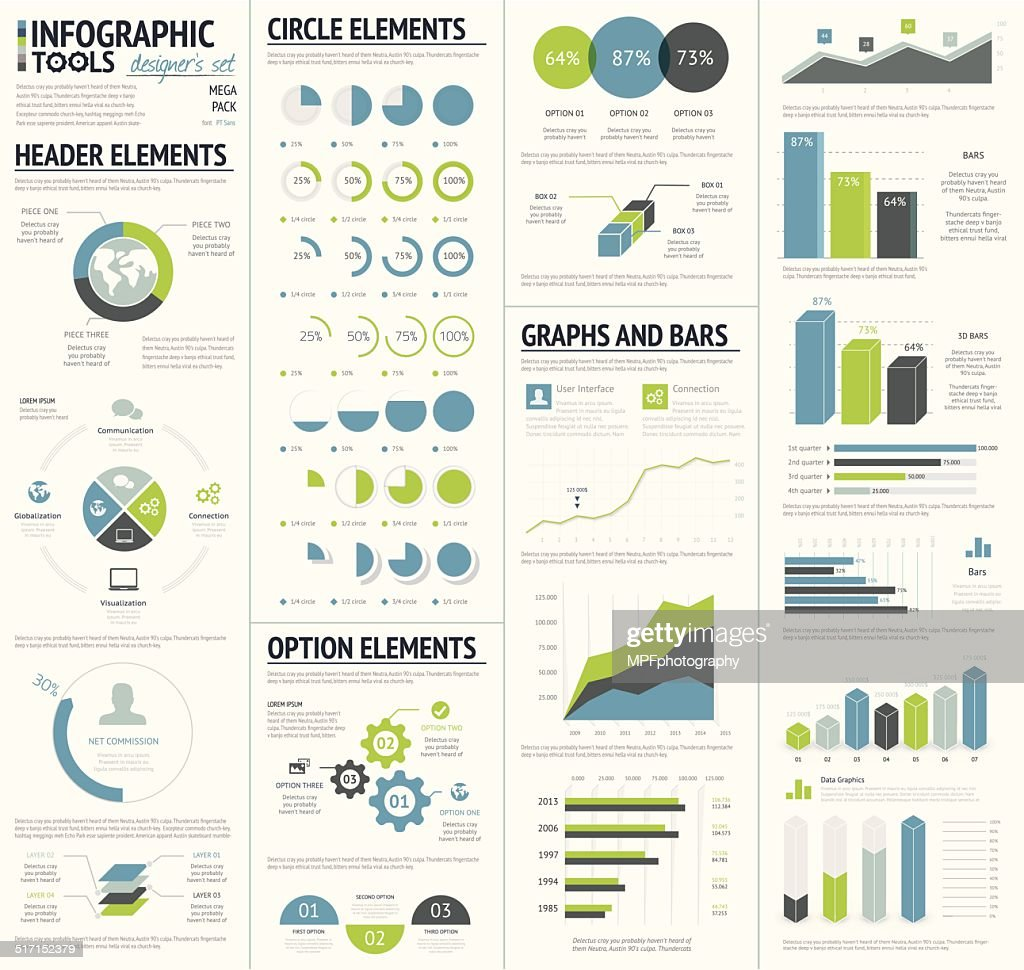 Infographic tools designer's edition