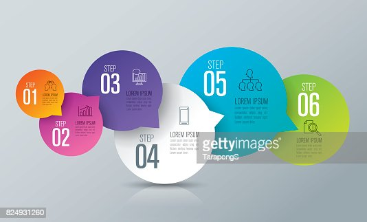 Infographics design vector and business icons. : stock vector