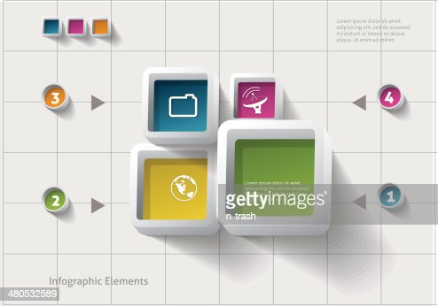 Infographics design. : Vectorkunst