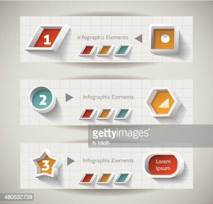 Infografiken design. : Vektorgrafik