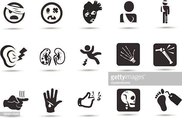 Injury Accident Icons