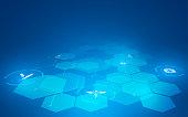 innovation technology health care concept design background eps 10 vector