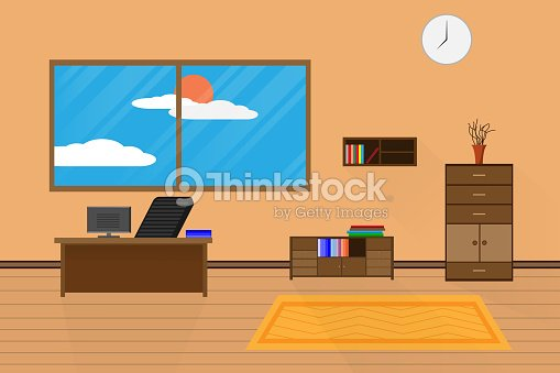 http://media.gettyimages.com/vectors/interior-office-design-relax-with-computer-on-table-chair-bookcase-vector-id899858156?s=170667a&w=1007