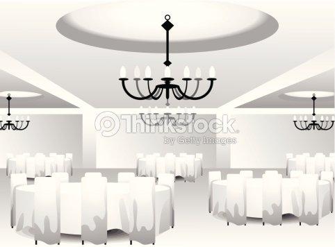 Interior Template For Event Design Vector Art