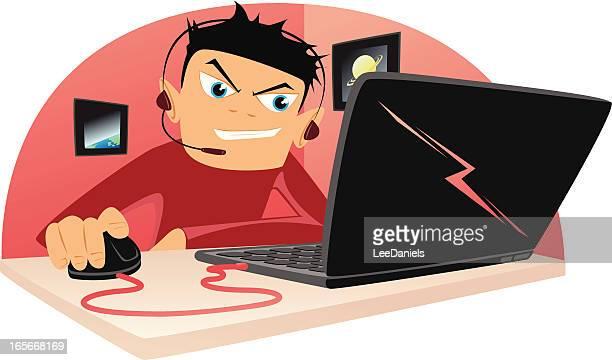 Internet Gaming Cartoon