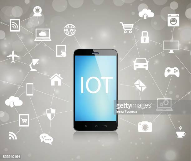 Internet der Dinge. IOT-Konzept