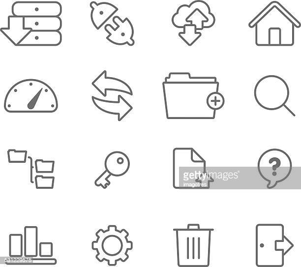Internet Servers - Simple Icons
