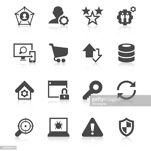 Internet & Web Icon Set | Unique Series
