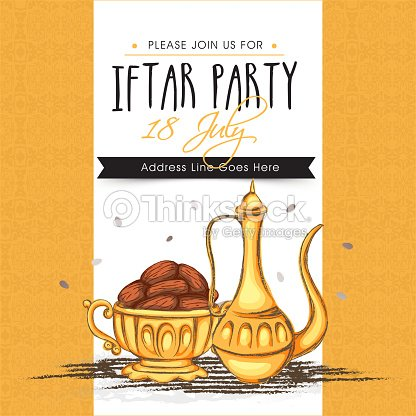 Invitation card for ramadan kareem iftar party celebration vector invitation card for ramadan kareem iftar party celebration vector art stopboris Image collections