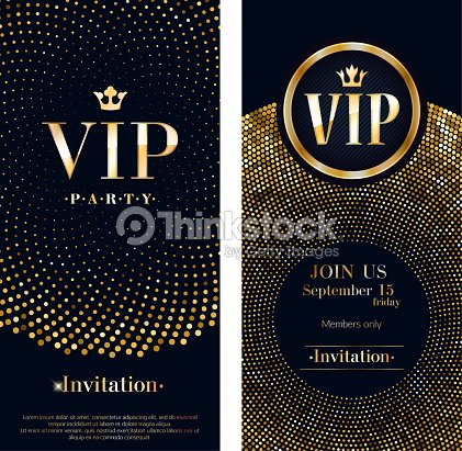 Vip invitation card premium design template vector art thinkstock vip invitation card premium design template vector art maxwellsz
