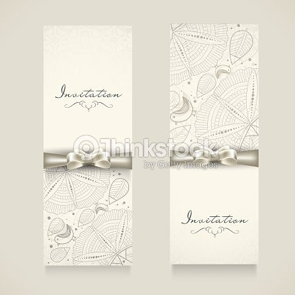 Invitation card with floral decoration vector art thinkstock invitation card with floral decoration vector art junglespirit Choice Image