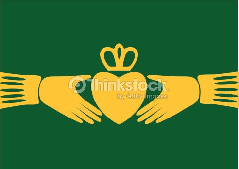 Irish Claddagh Symbol Vector Art Thinkstock