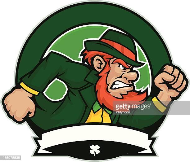 Irish Mascot design