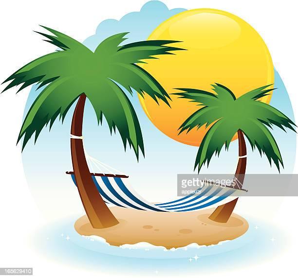 free clipart hammock cartoon - photo #33