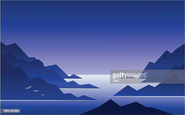 Islands in Blue