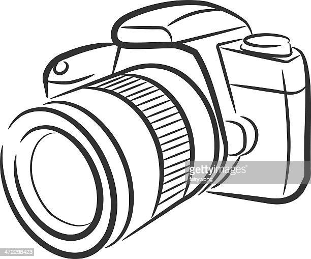 Isolated SLR camera