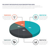 This is Isometric 3D PieChart Infographics.You can used it all of your business purposes. You can change all the elements in your own choice by one click.