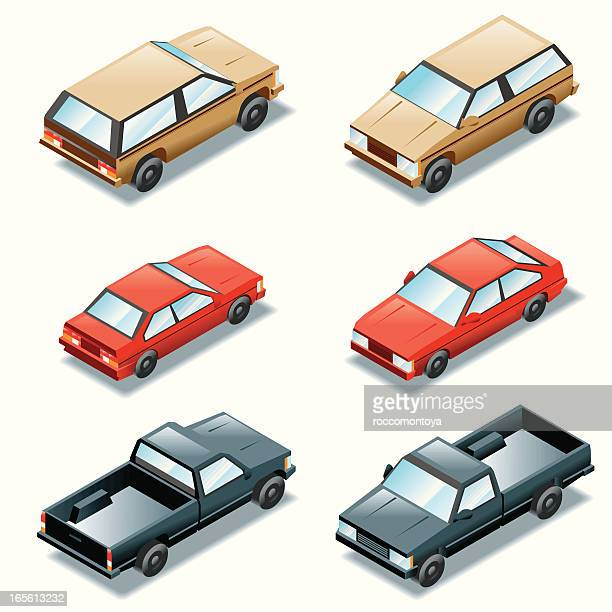 Isometric Set, Cars