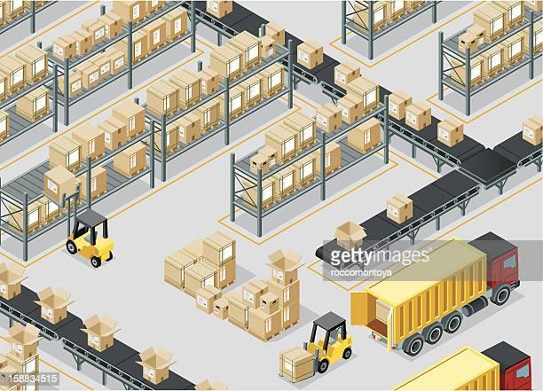 Isometric, Storage Room