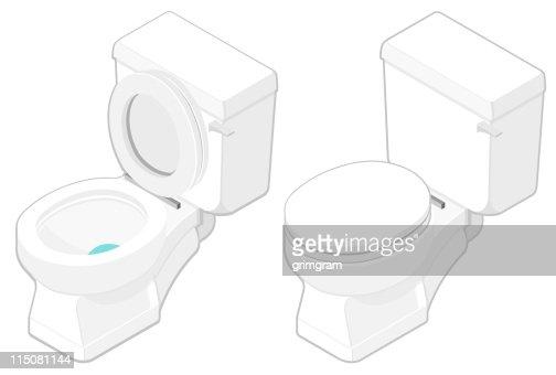 Isometric Toilet   Vector Art. Isometric Toilet Vector Art   Getty Images