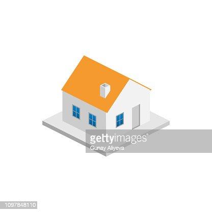 Isometric_building_20ed : arte vettoriale
