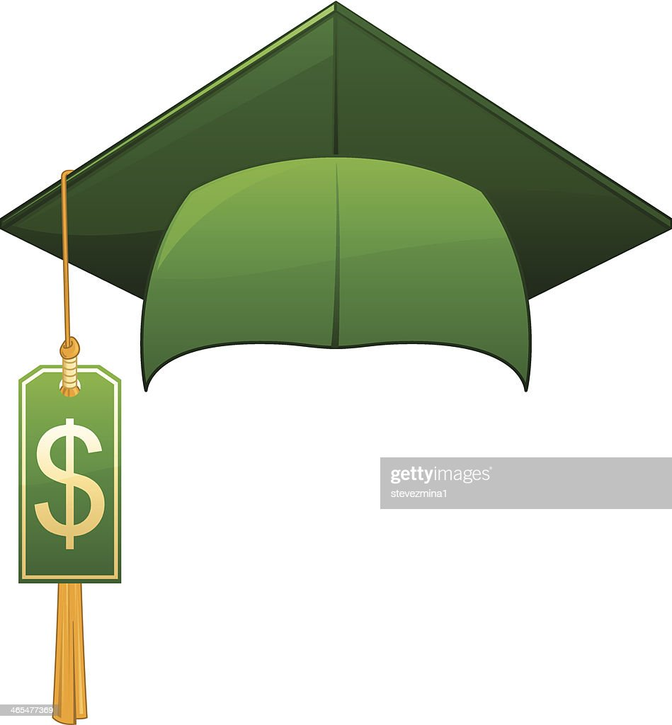 it costs money to graduate from college vector art getty images it costs money to graduate from college vector art