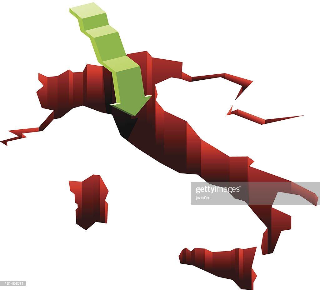 Italian Economy : Vector Art