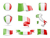 Italy Flags Collection