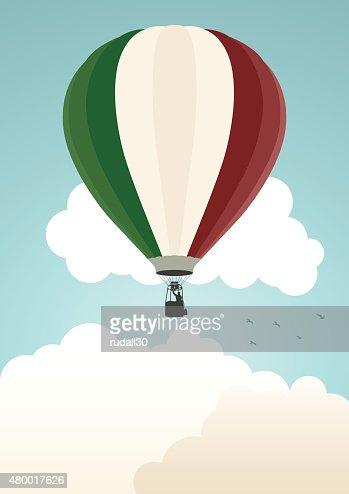 montgolfiere italie