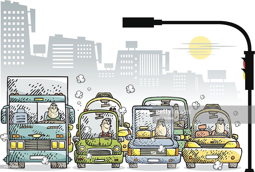 jam in the city 2 : Vector Art