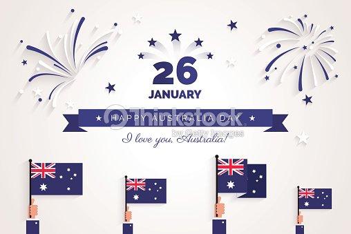 26 january australia day greeting card celebration background vector australia day greeting card celebration background vector art m4hsunfo
