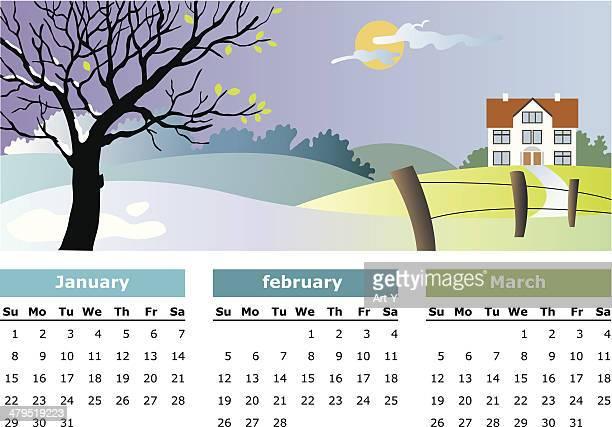 January, february, march - 2006