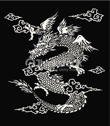 Dragon japonais clipart vectoriel thinkstock - Dragon japonais ...