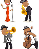Jazz abnd characters.