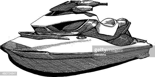 Getty images - Jet ski dessin ...