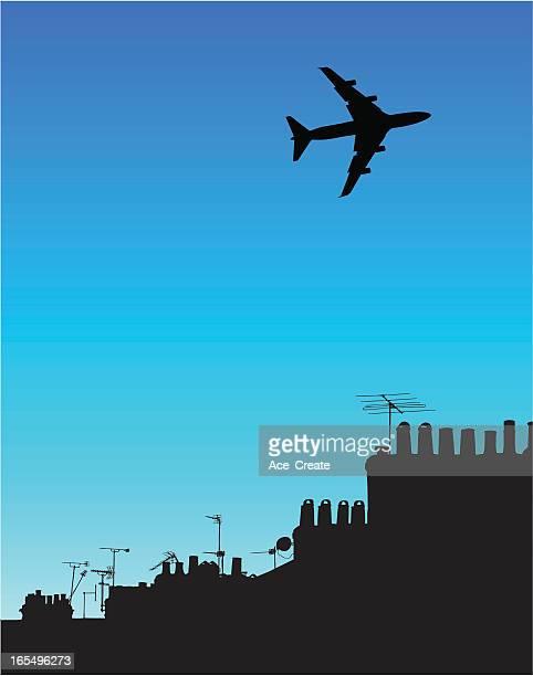 Jet velocidades de urban tejados